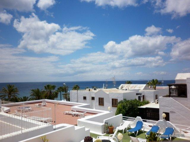 View from the balcony - Los Arcos , Puerto del Carmen, Lanzarote